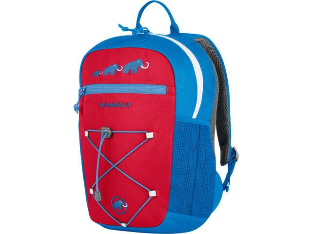 Mammut First Zip Plecak 4l Dzieci, czerwony/niebieski
